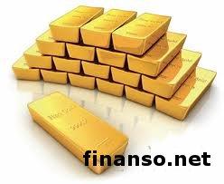 Котировки на золото и драгоценные металлы упали – обзор