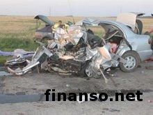 В аварии в Запорожской области погибли два человека