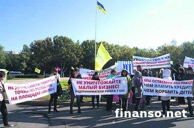 Скандал на крупнейшем рынке Украины в Одессе: бизнесмены бунтуют, милиция штурмует