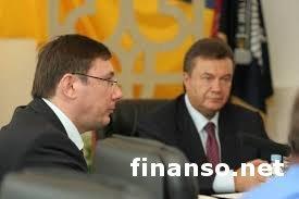 Ю. Луценко назвал Президента Украины В. Януковича союзником оппозиции