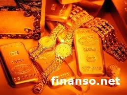 Цены на золото снизились на фоне позитивных данных по экономике - обзор