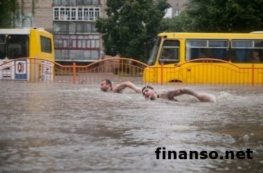 Убытки от непогоды в Луцке составили 4,5 млн. гривен