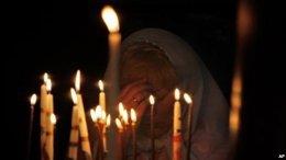 В столице Украины Киеве неизвестные жестоко убили священника