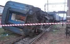 В Запорожье сошел с рельсов пассажирский поезд - последствия