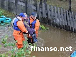 Хабаровск затапливает все больше, 8 тысяч людей эвакуировано