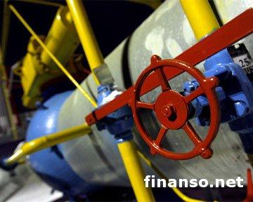 В октябре месяце для Украины на 1,04% выросла цена на российский газ