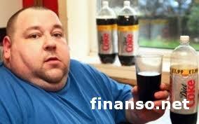 Причиной ожирения признаны низкокалорийные напитки - ученые
