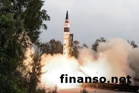 """Индия успешно запустила ракету """"Агни-5"""", способную нести ядерный боезаряд"""
