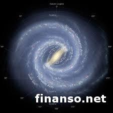 """Составив 3D-карту Млечного пути, астрономы обнаружили """"арахис"""" в центре галактики"""