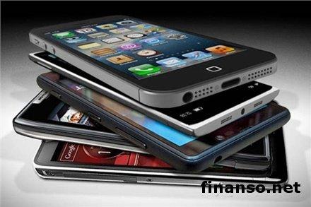 В Украине на 60% до 2 млрд. гривен вырос рынок смартфонов