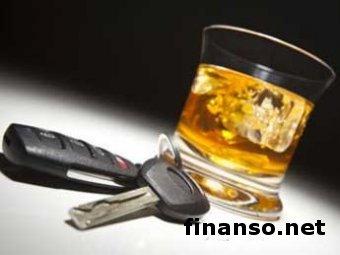 ВР Украины увеличила штрафы за вождение авто в нетрезвом состоянии