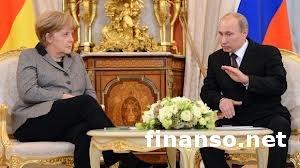 Канцлер ФРГ обвинила Путина в политическом давлении на Украину