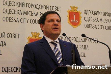 В отставку подал мэр Одессы – причины