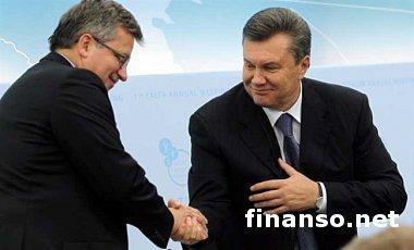 Янукович в Кракове с президентами ФРГ, Италии и Польши обсудит СА Украины с ЕС