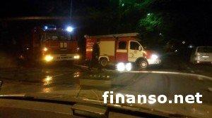 ЧП в Симферополе: Пожар уничтожил торговый центр и телекомпанию