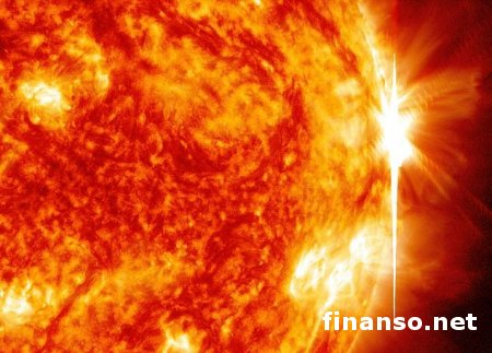 За неделю астрономы зафиксировали на Солнце 28 вспышек – выводы
