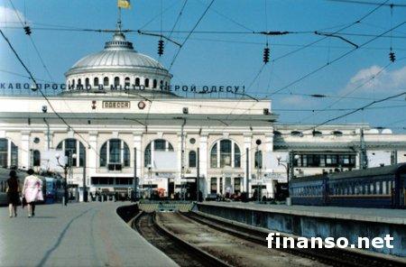 Одесская железная дорога одолжила у России 200 млн. гривен