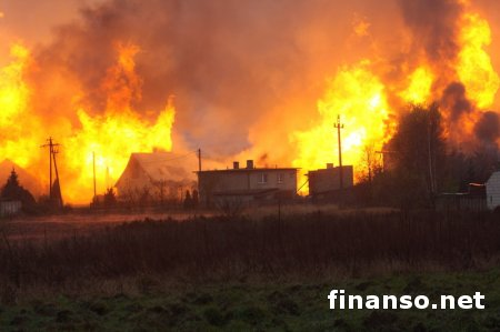 В Польше на газопроводе произошел мощный взрыв - последствия