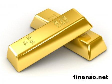Золото обратно упало к минимумам на прошлой неделе - причины