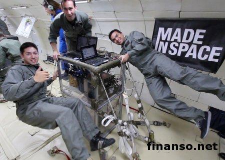 NASA отправит в космос 3D-принтер, печатающий еду