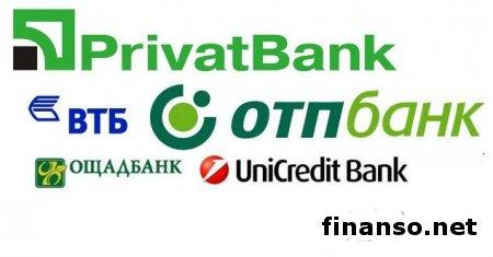 Известны наиболее популярные банки у украинцев за  март 2014 года