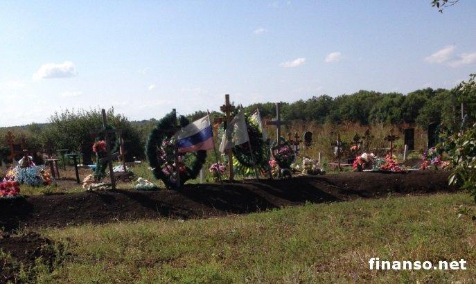 Массовые захоронения русских солдат выявили наДонбассе