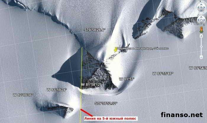 Получено очередное разъяснение происхождения загадочных пирамид вАнтарктиде