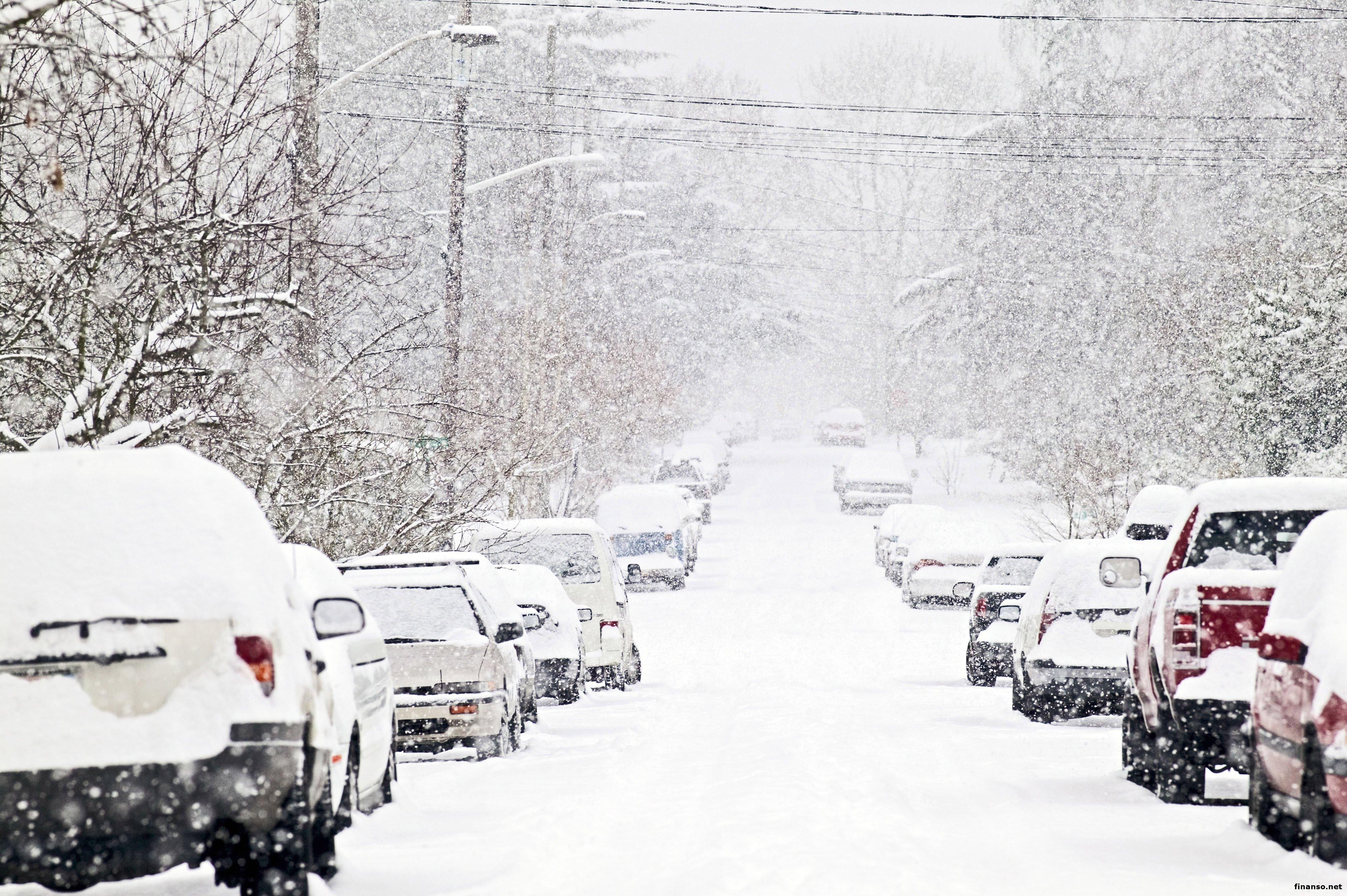 КГГА: 13-14ноября заезд фургонов вукраинскую столицу из-за снегопада будет ограничен