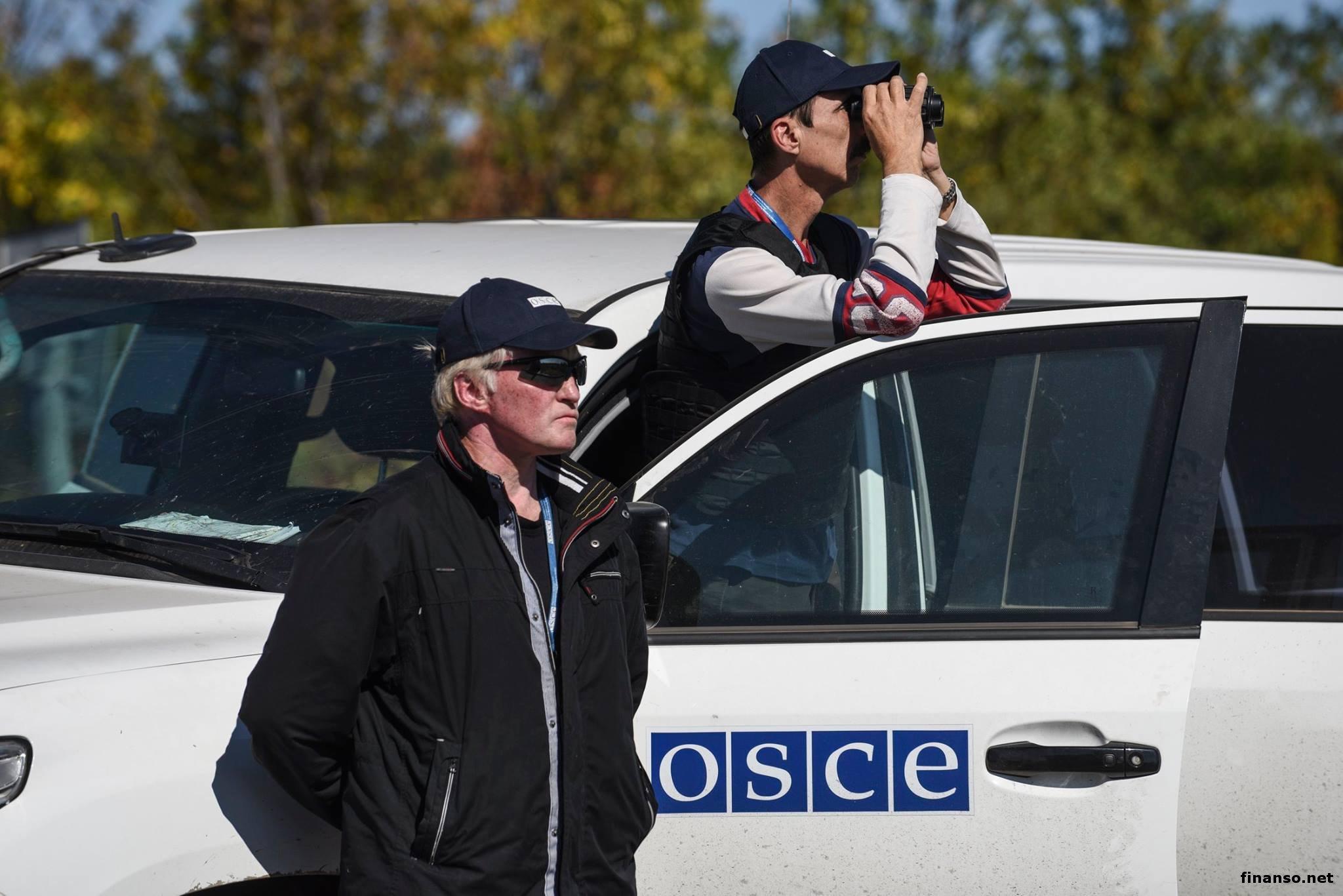 ОБСЕ рапортует обухудшении ситуации наДонбассе