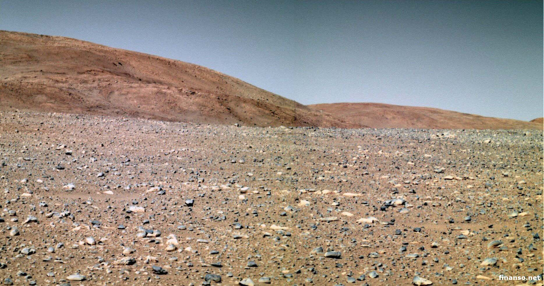 Наповерхности Марса уфологи отыскали мрамор