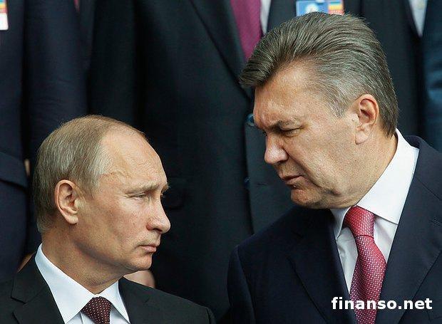 Стало известно отайной встрече Януковича сПутиным